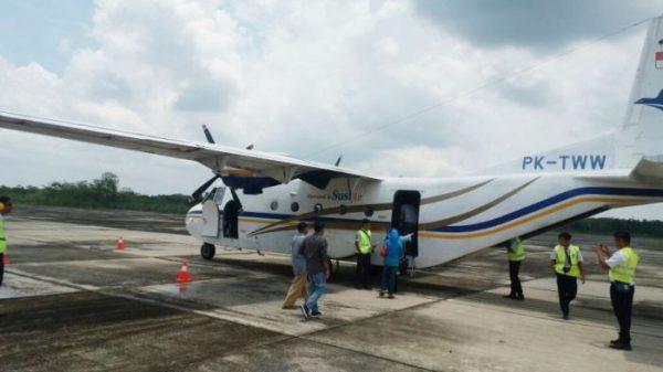 Penerbangan Rute Pasir Pengaraian Batam Difungsikan Kembali Berkasriau Com